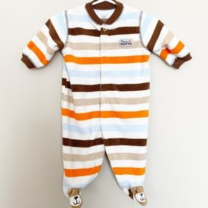 Just One You Mommy Loves Me Fleece Bear Pajamas